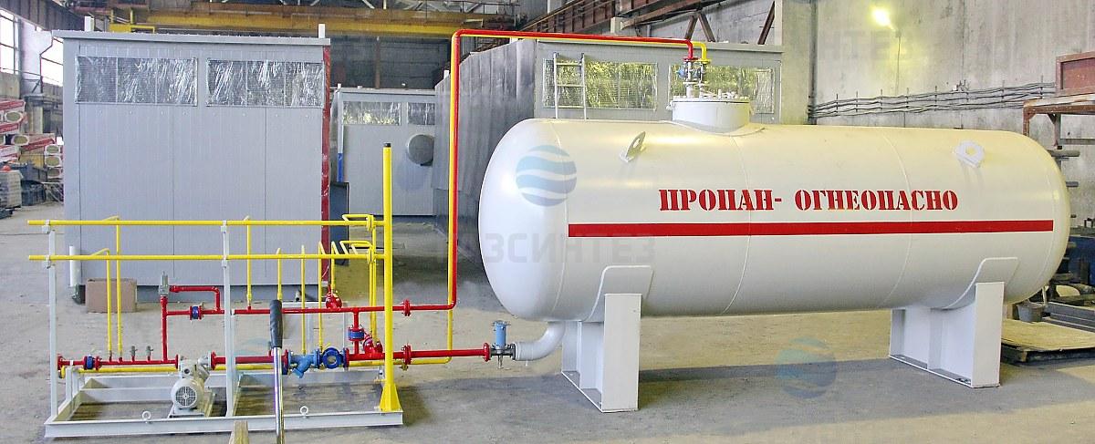 Резервуар ГС 25,0-1,6 2П (рабочая среда сжиженный углеводородный газ (пропан-бутан)