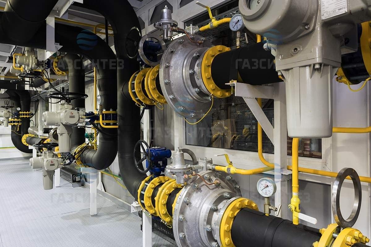 Блок подготовки газа БПГ производства Завода ГазСинтез