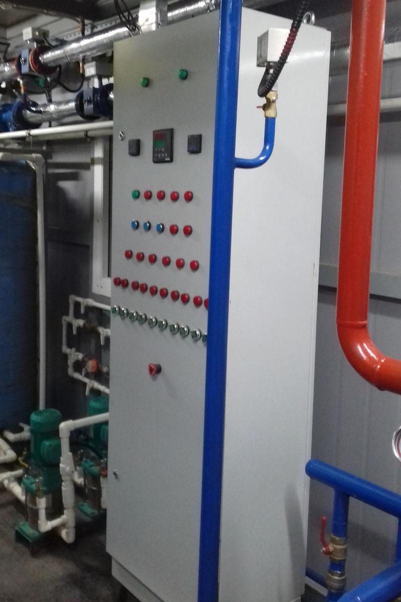 Шкаф автоматики блочно-модульной котельной ГазСинтез-БМ-350