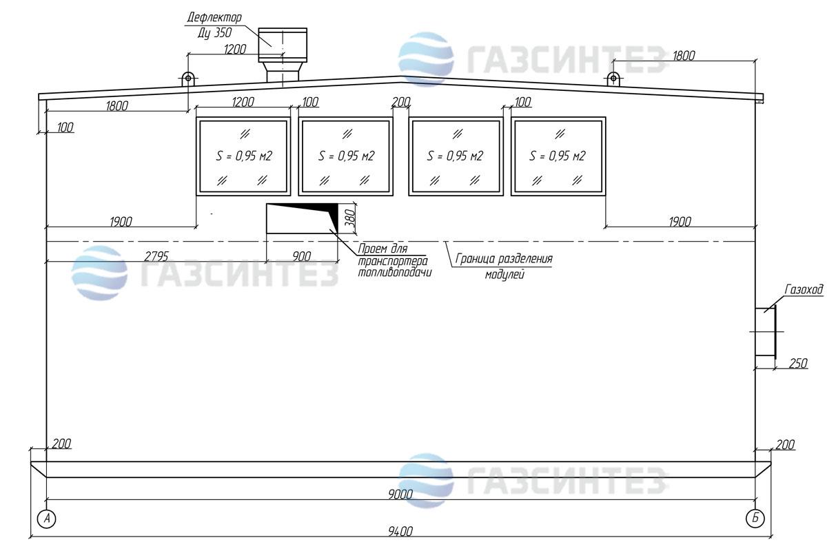 электроснабжение модульной котельной 10 мвт