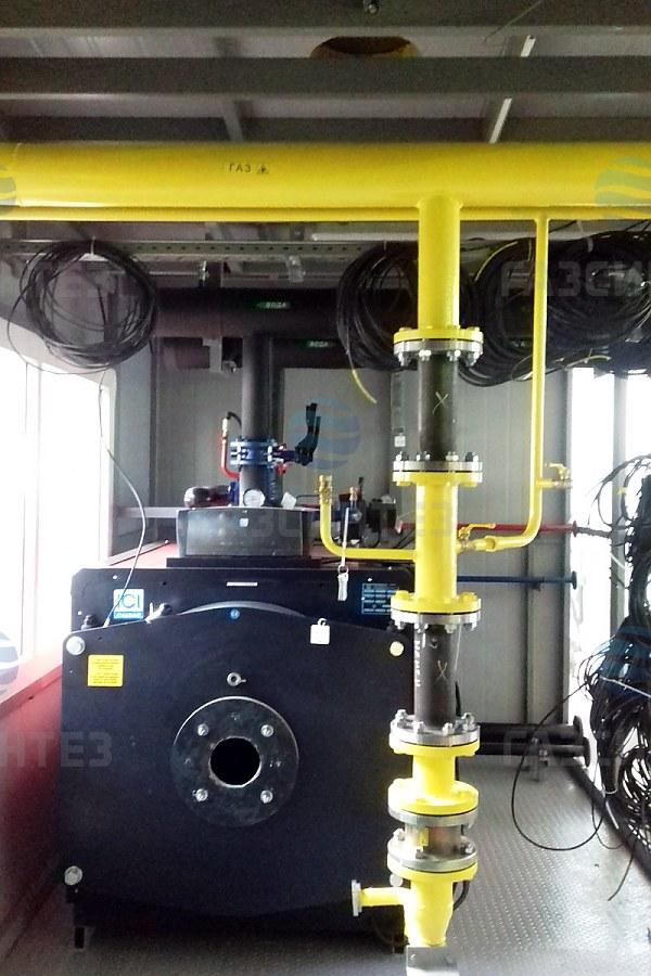 газовая блочная котельная 700 квт