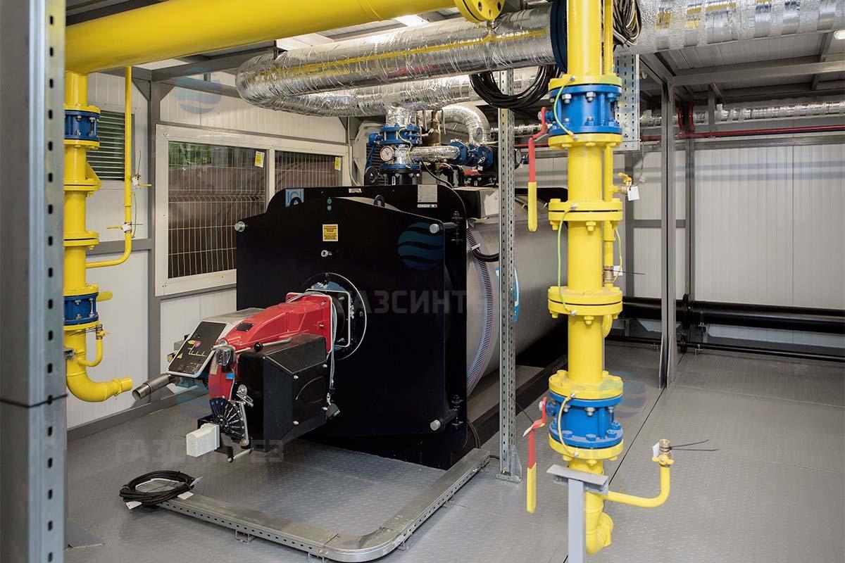 Транспортабельная котельная установка мощностью 3500 кВт